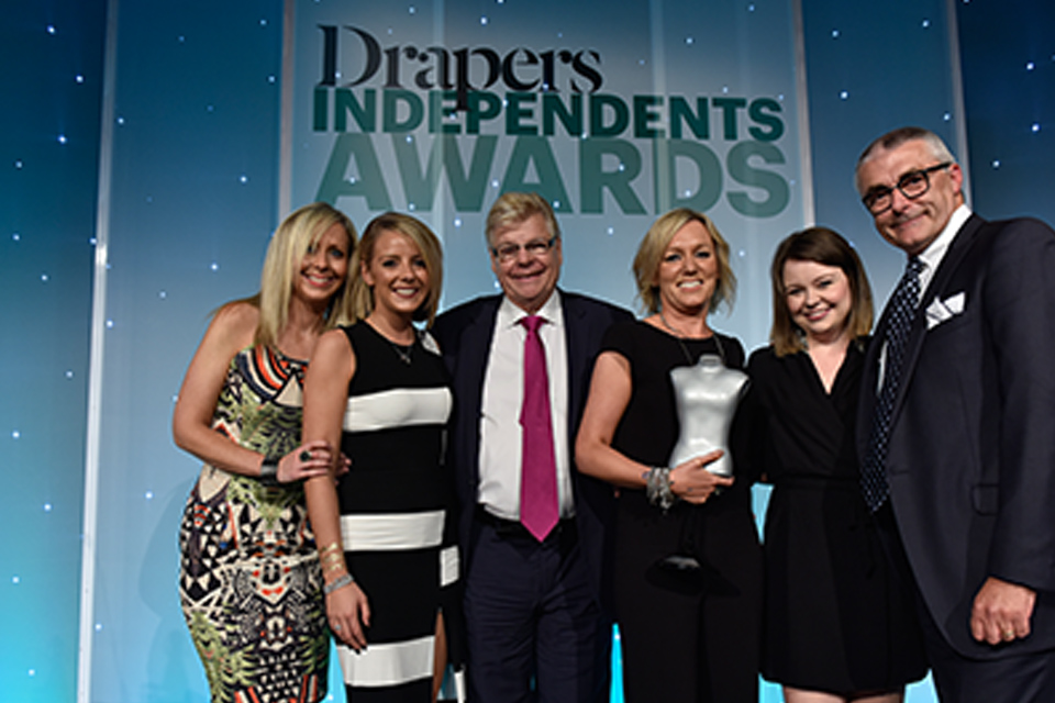 Drapers Awards: Best Womenswear Independent Winner!