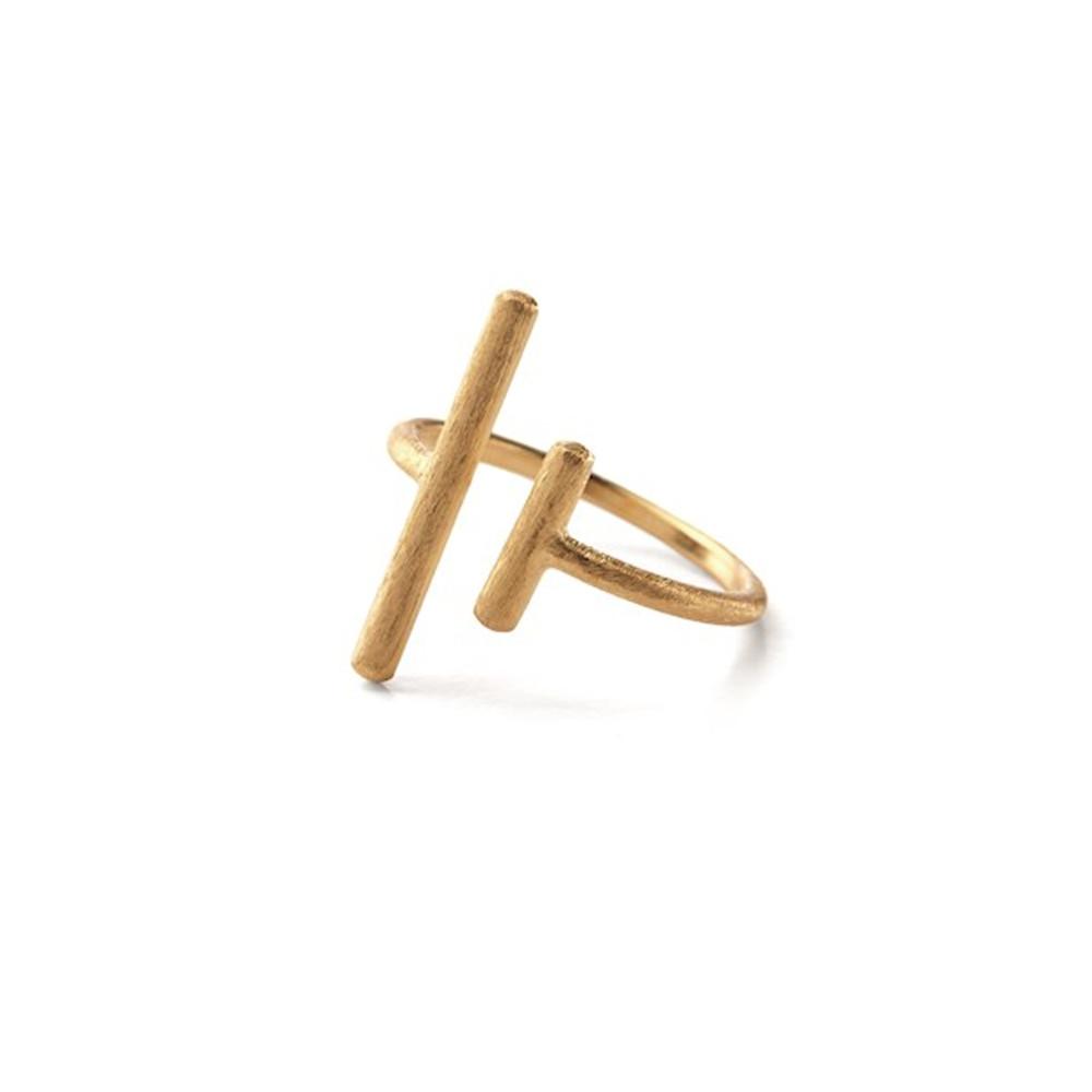 Sticks Ring - Gold