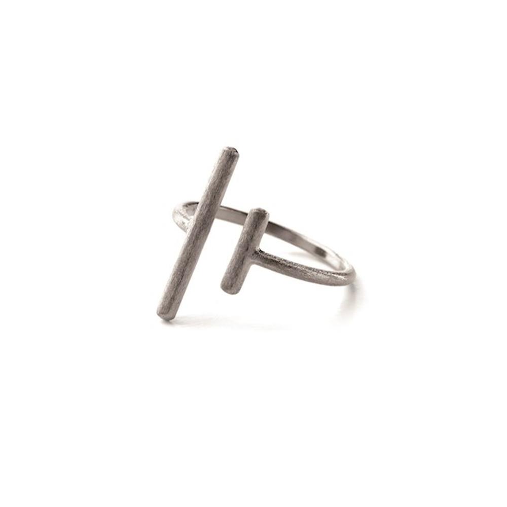 Sticks Ring - Silver