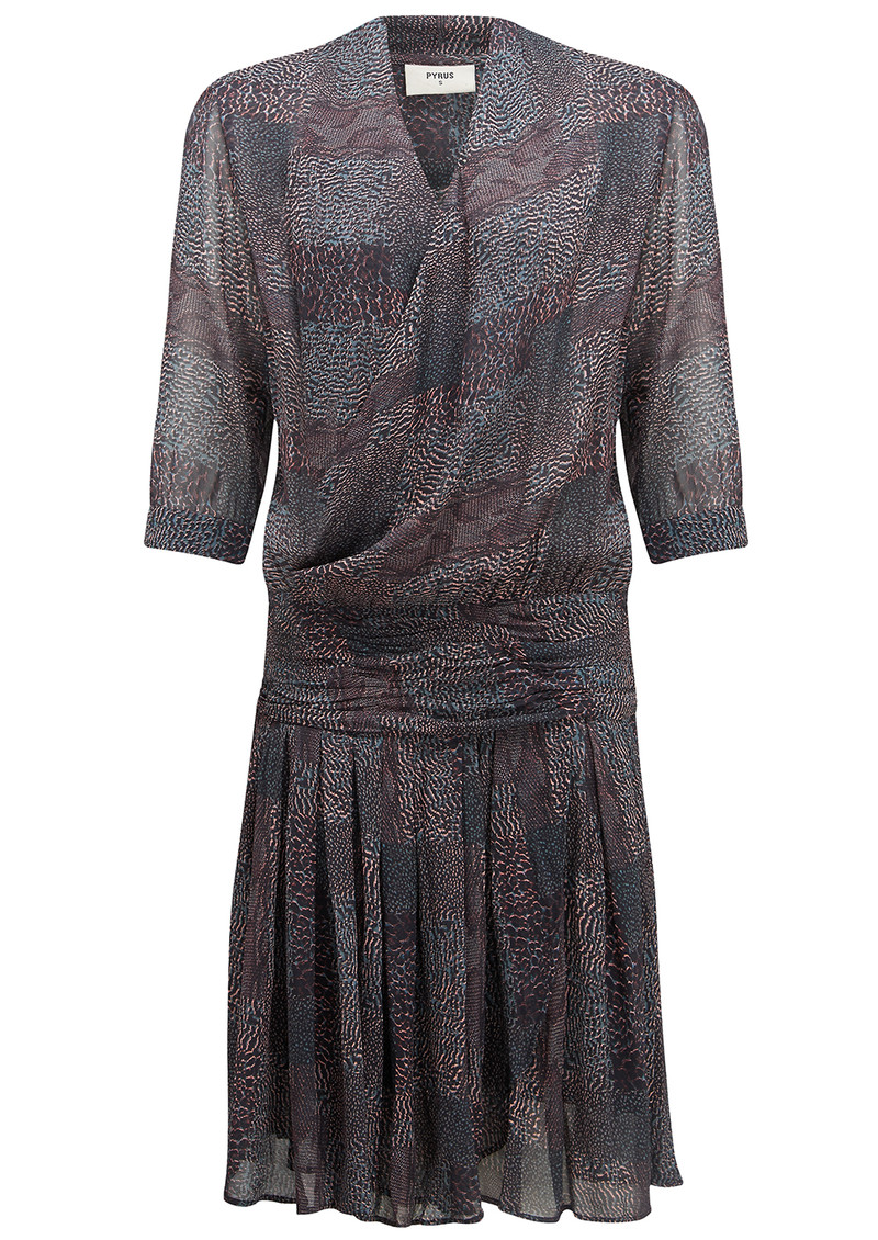 Pyrus Drury 3/4 Length Dress - Multi Animal Print main image