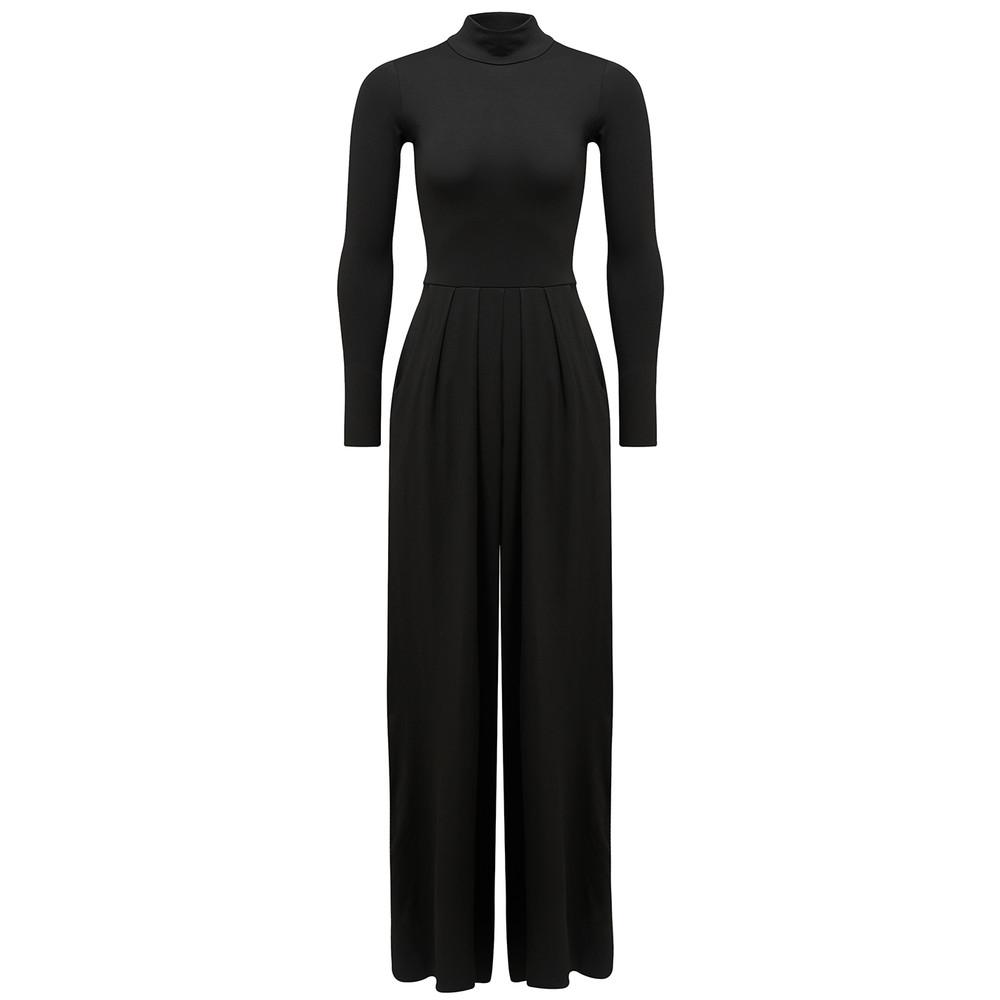 Minimalist Pantsuit - Black