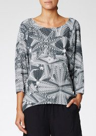 Twist and Tango Gwen Blouse - Graphic Print