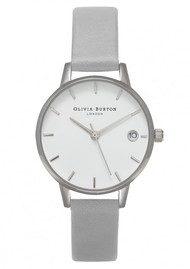 Olivia Burton The Dandy Watch - Grey & Silver