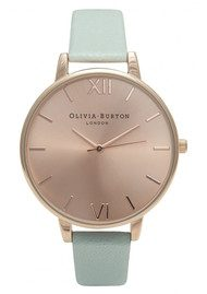 Olivia Burton Big Dial Watch - Mint & Rose Gold