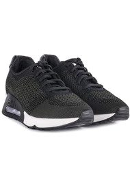 Ash Lucky Knitted Trainers - Black & Army