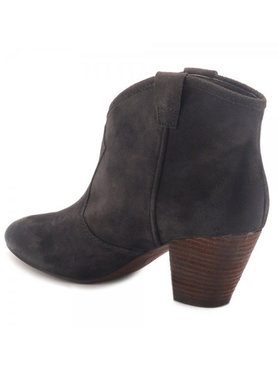 Ash Jalouse Suede Ankle Boot - Wood Ash main image