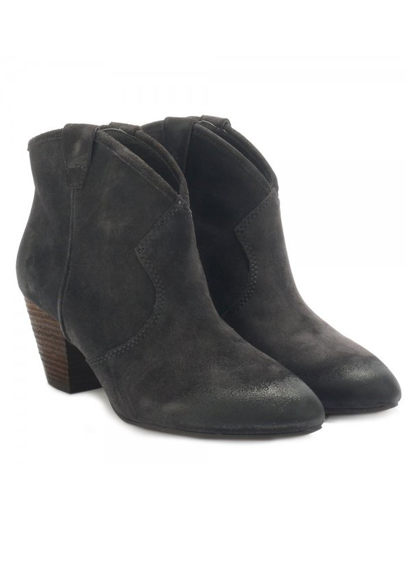 Jalouse Suede Ankle Boot - Wood Ash main image