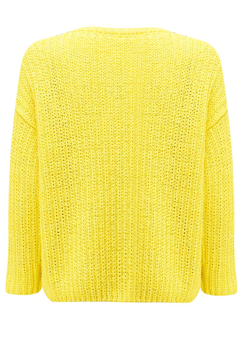 Smartstreet Cotton Jumper- Mimosa main image