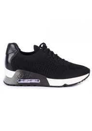 Ash Lucky Knitted Trainers - Black