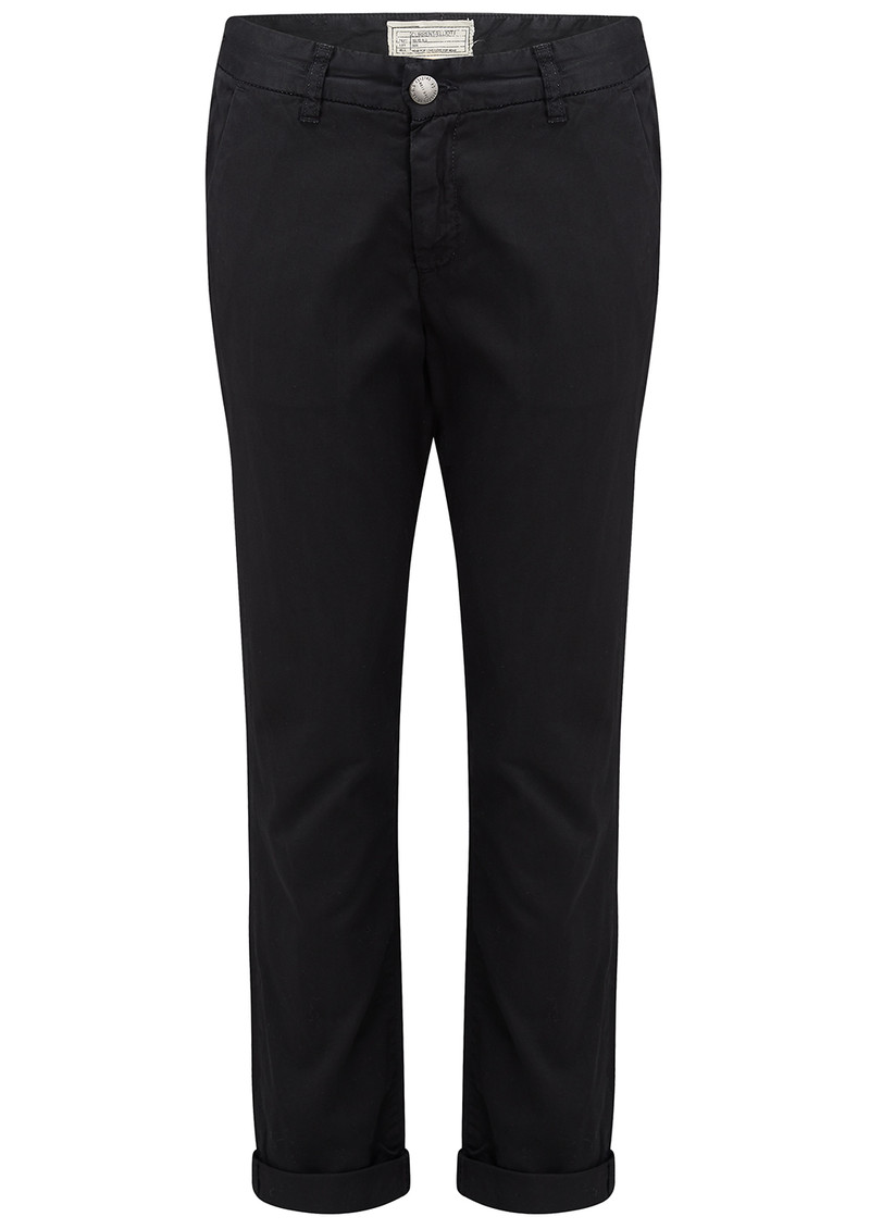 Current/Elliott The Buddy Trouser - Washed Black main image