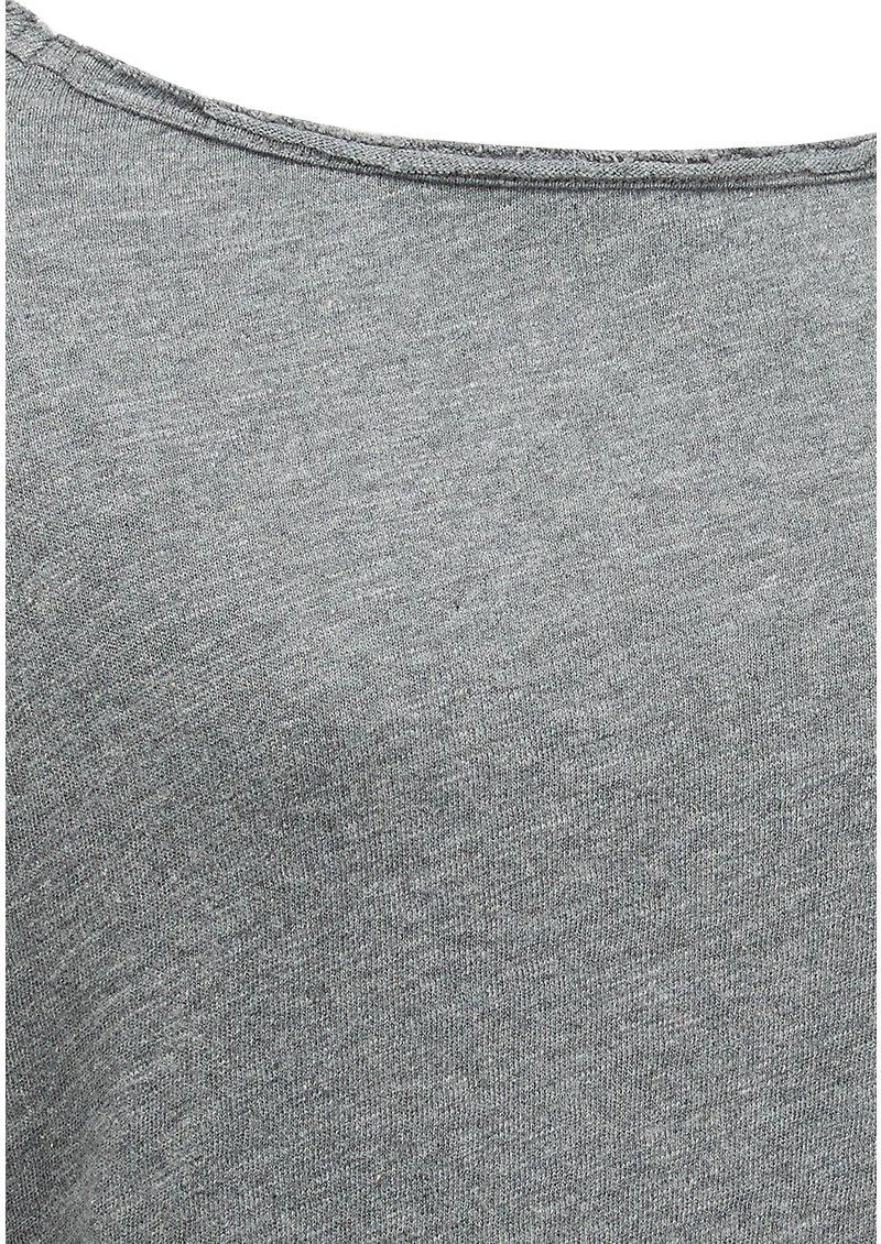 American Vintage Sonoma Long Sleeve Tee - Heather Grey main image