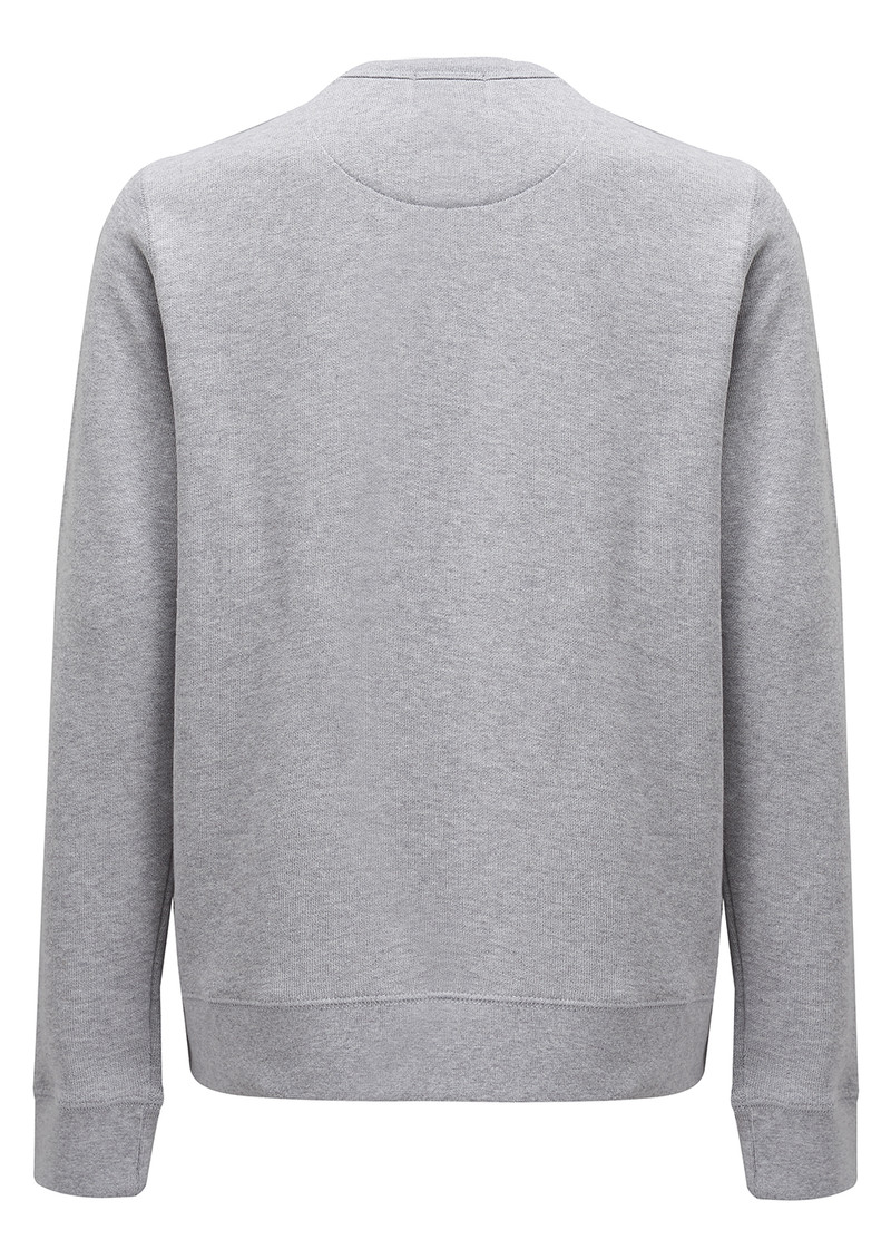 MAISON LABICHE Tomboy Cotton Sweatshirt - Grey main image