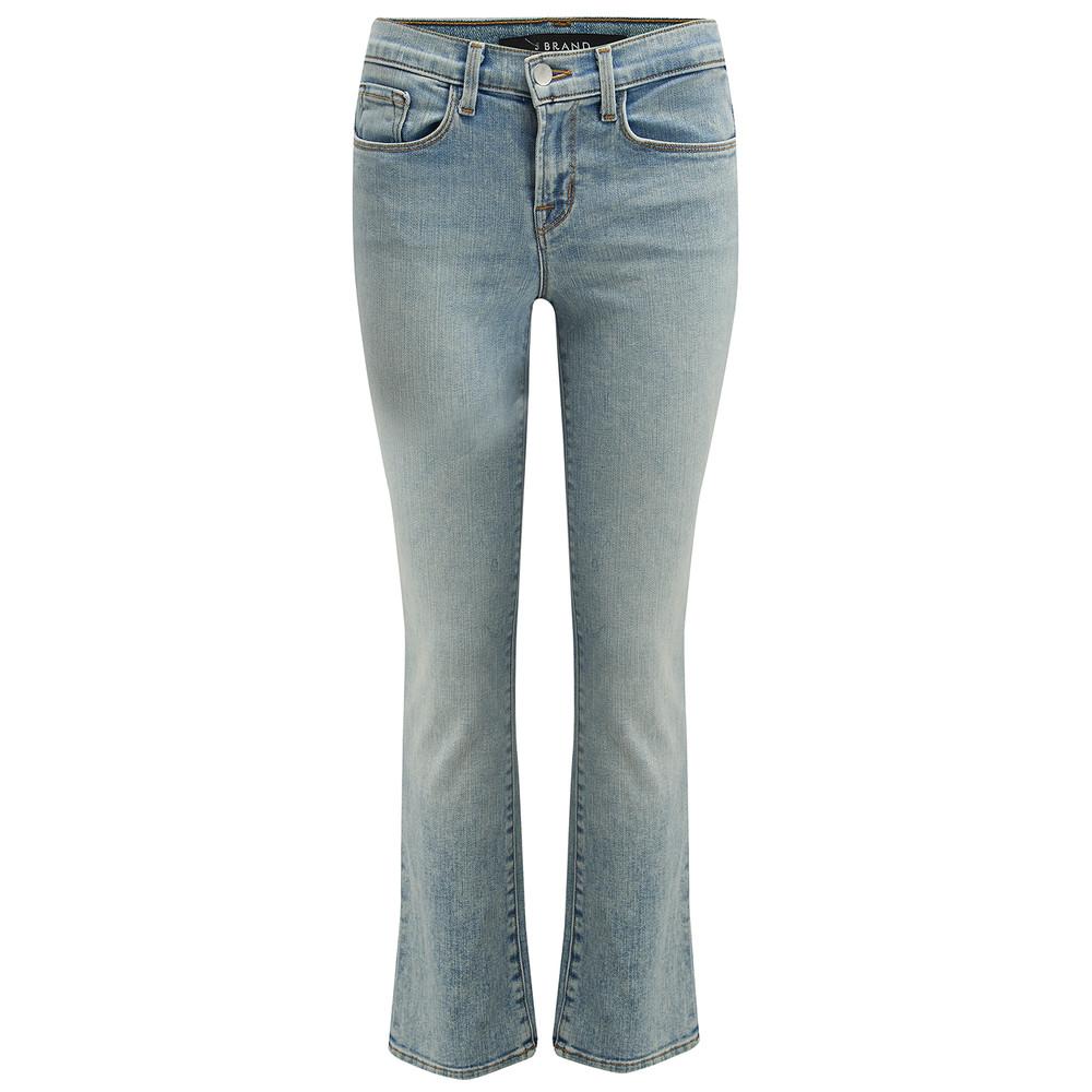 Selena Mid Crop Bootcut Jeans - Decades
