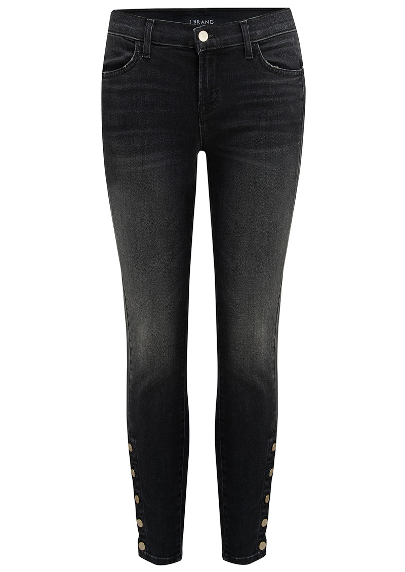 J Brand Suvi Utility Crop Jean - Anthracite main image