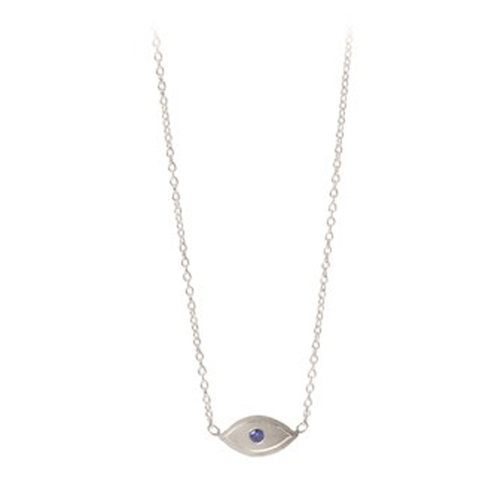 Lucky Eye Necklace - Silver