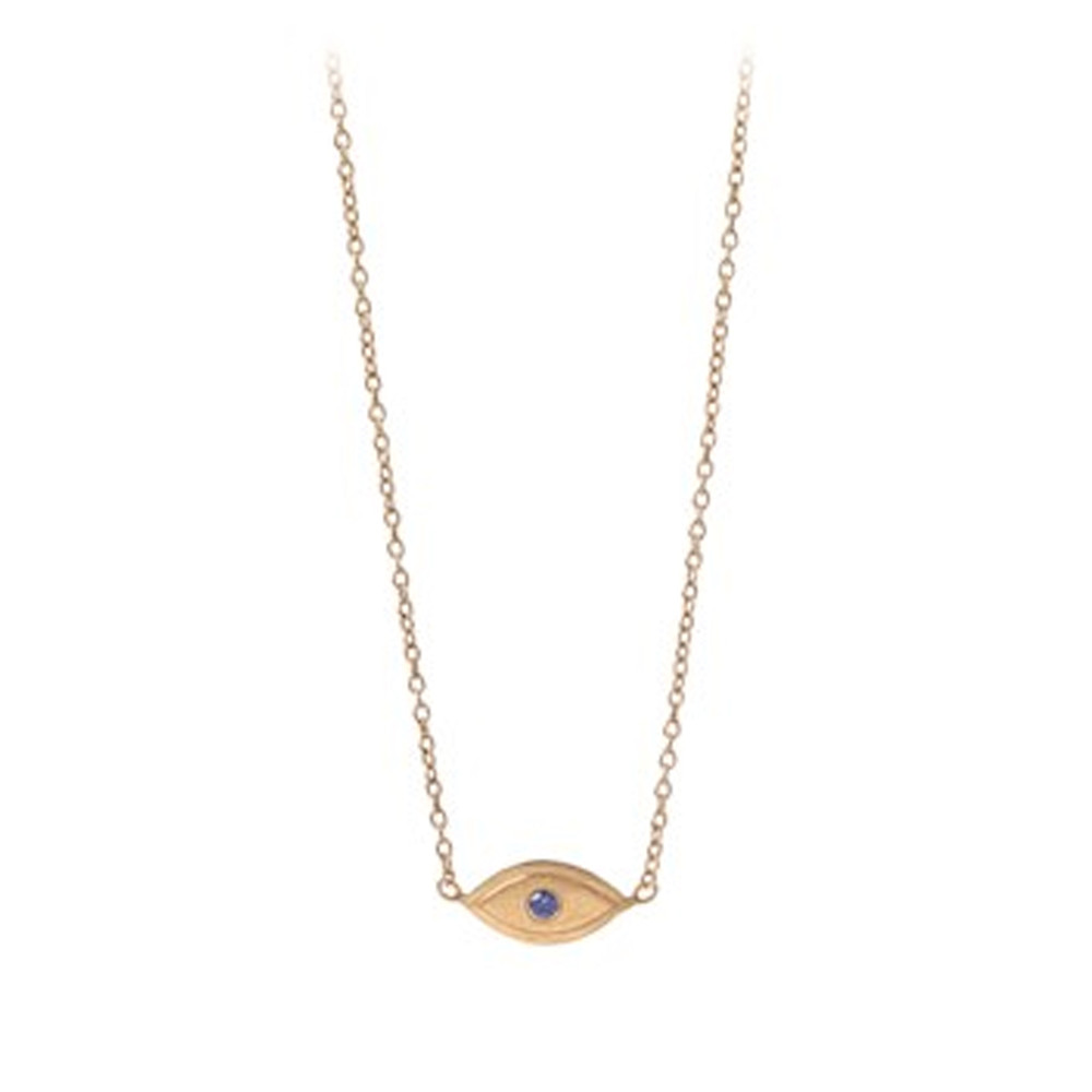 Lucky Eye Necklace - Gold