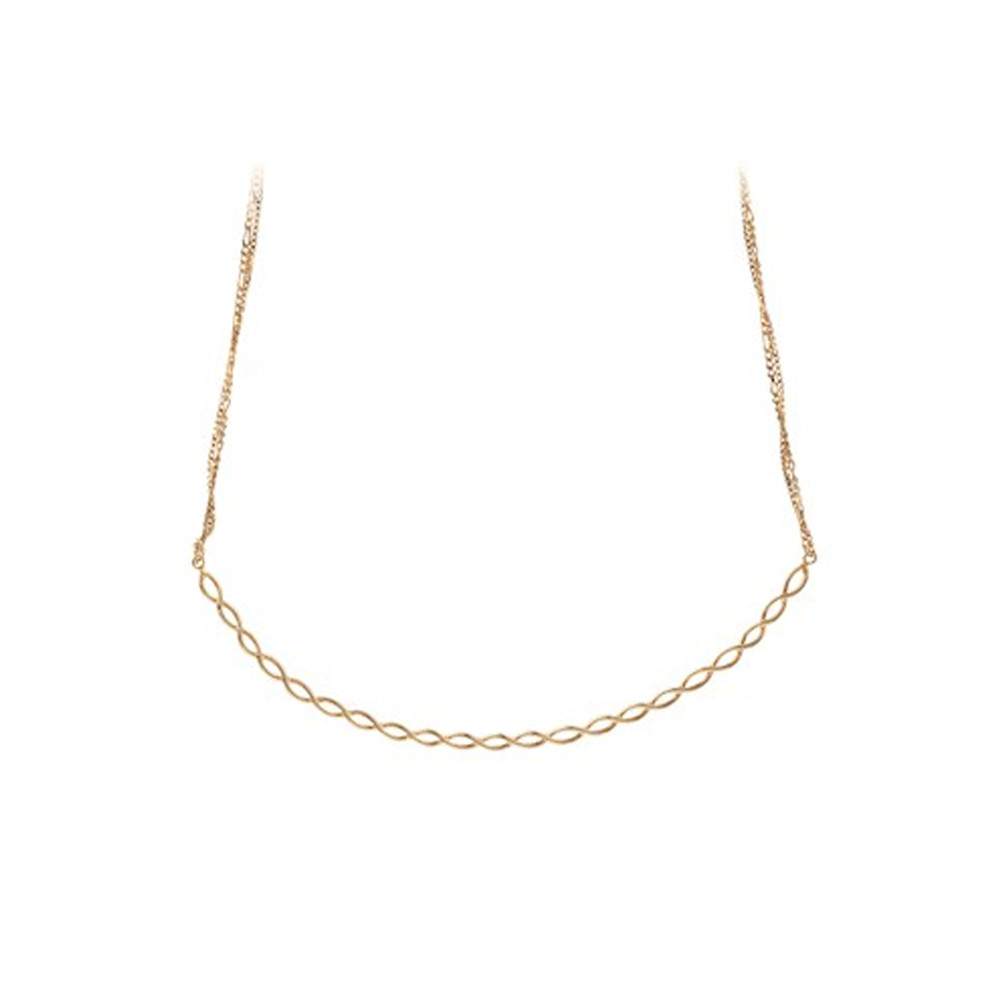 Entangled Necklace - Gold