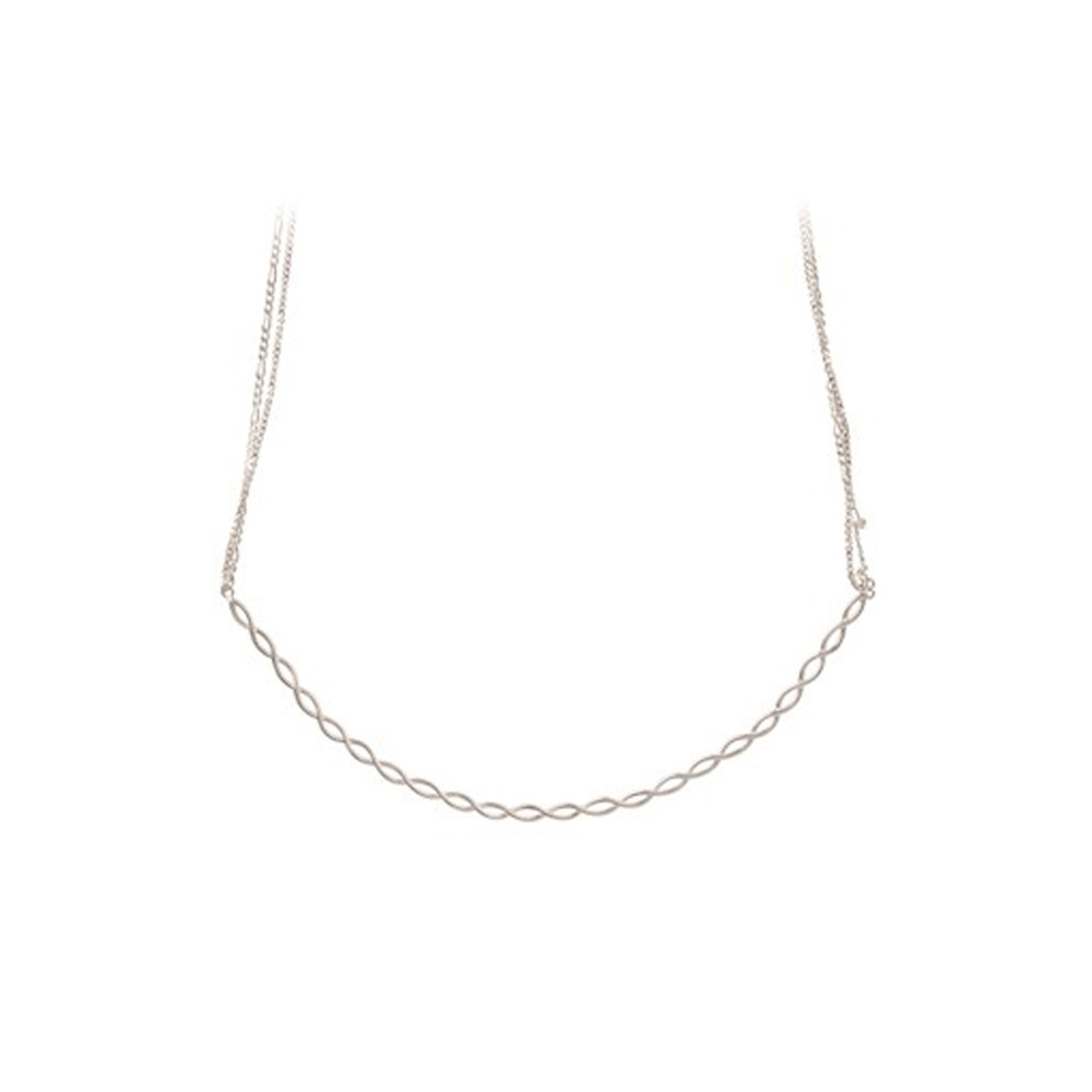Entangled Necklace - Silver