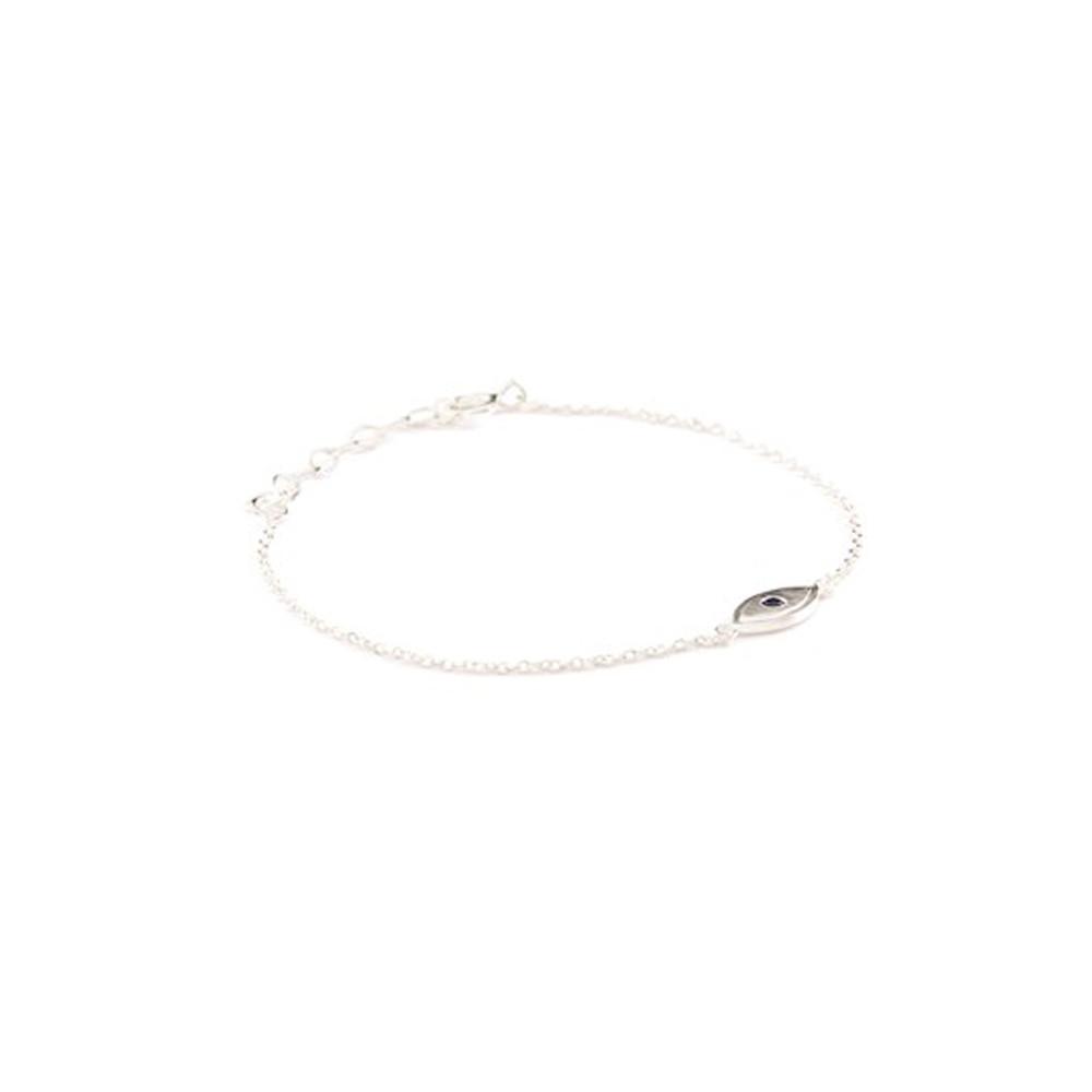 Lucky Eye Bracelet - Silver