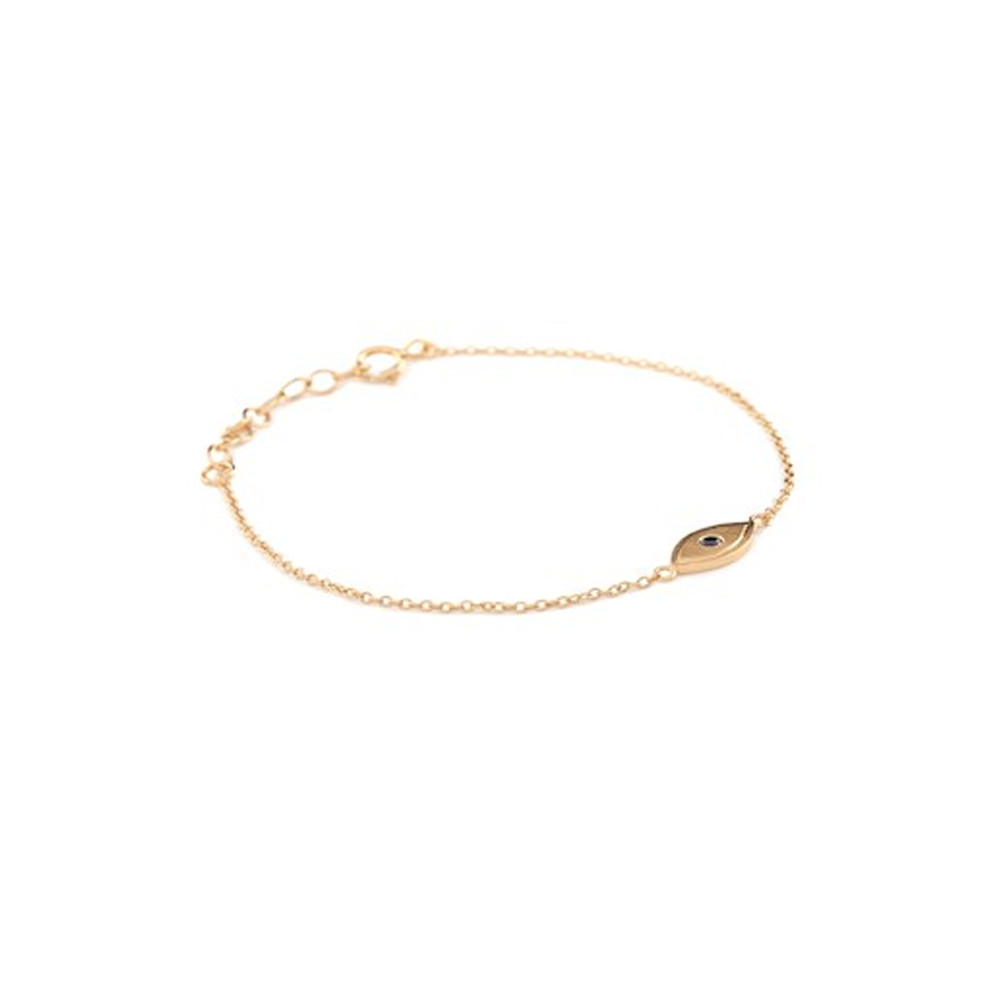 Lucky Eye Bracelet - Gold