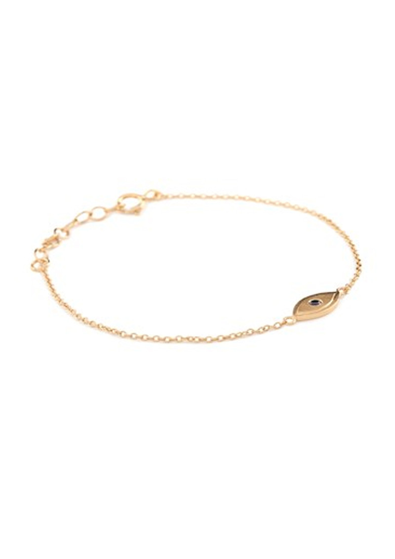 PERNILLE CORYDON Lucky Eye Bracelet - Gold main image