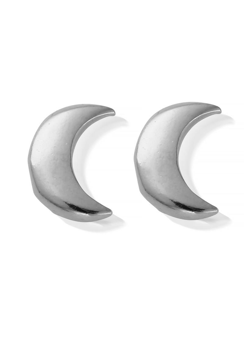 ChloBo Luna Soul Moon Earrings - Silver main image