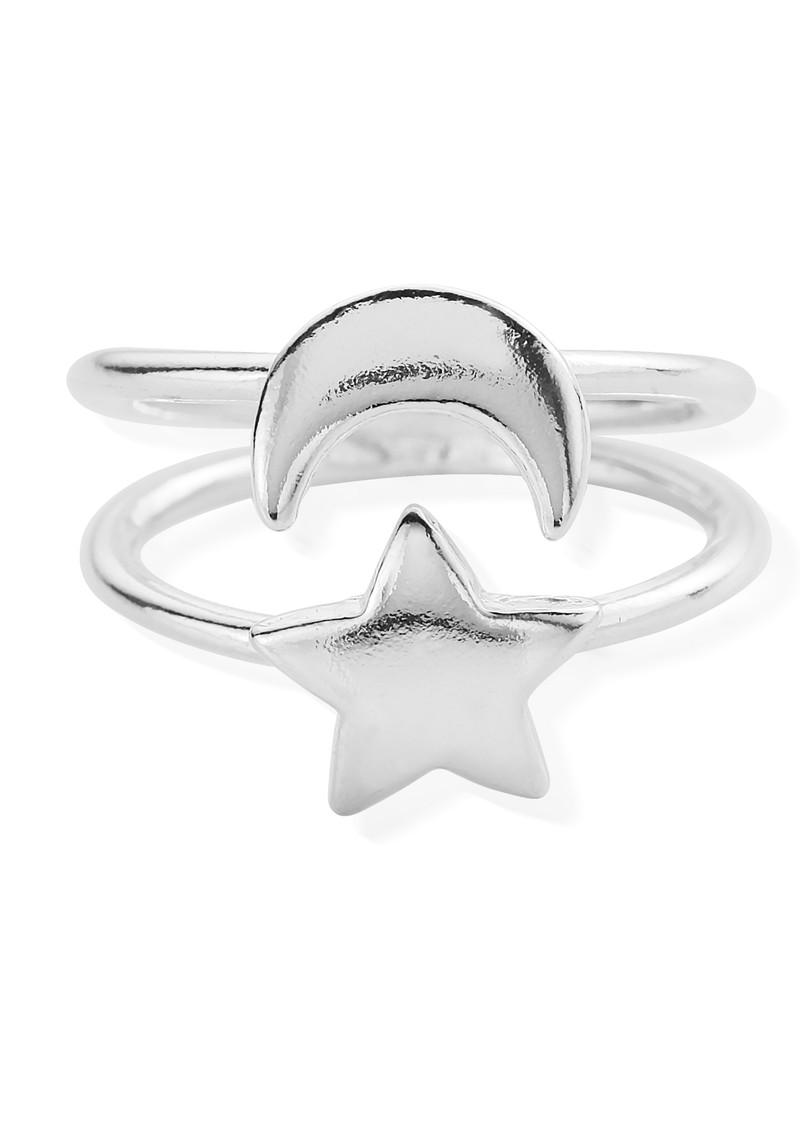 ChloBo Luna Soul Luna Ring - Silver main image