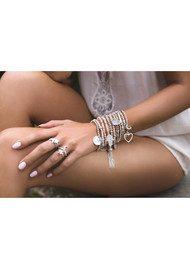 ChloBo Luna Soul Star Ring - Silver