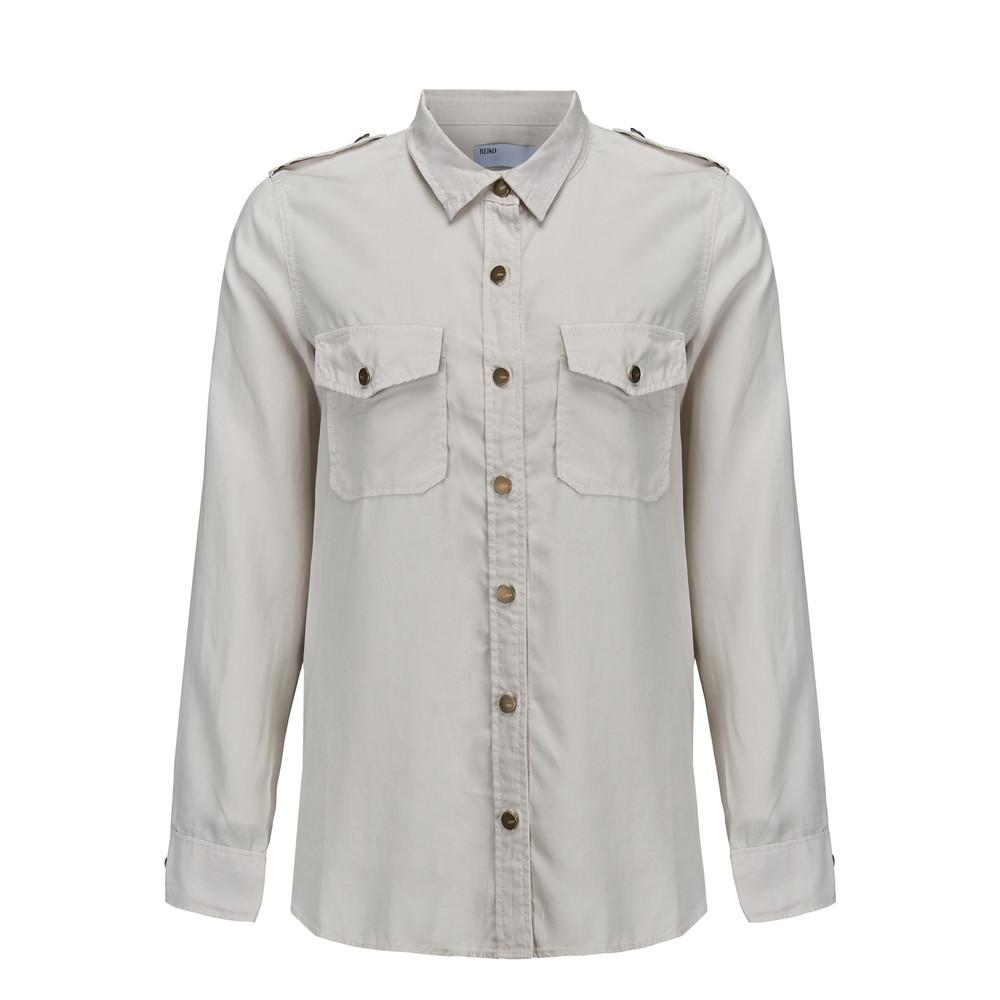 Claryss Shirt - Craie