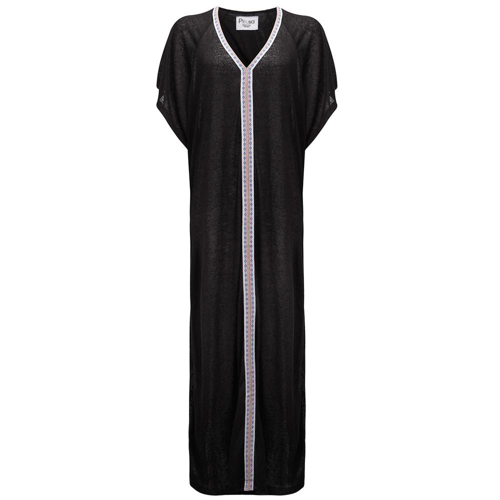 Abaya Dress - Black & White