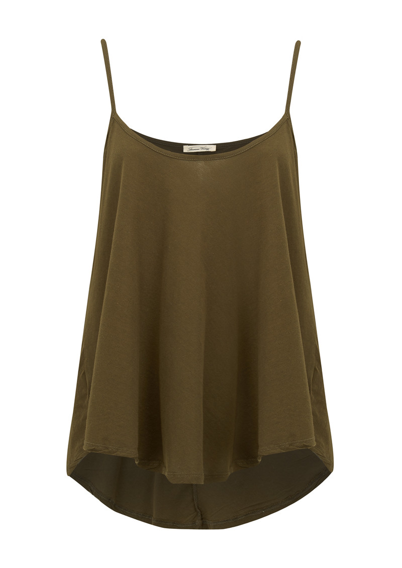 American Vintage Janyway Strappy Top - Military main image