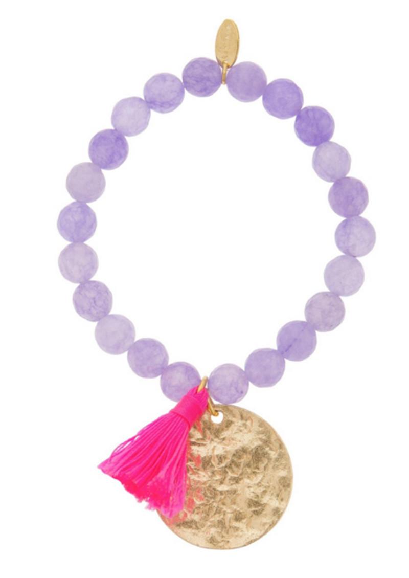 ASHIANA Phoebe Bracelet- Purple  main image