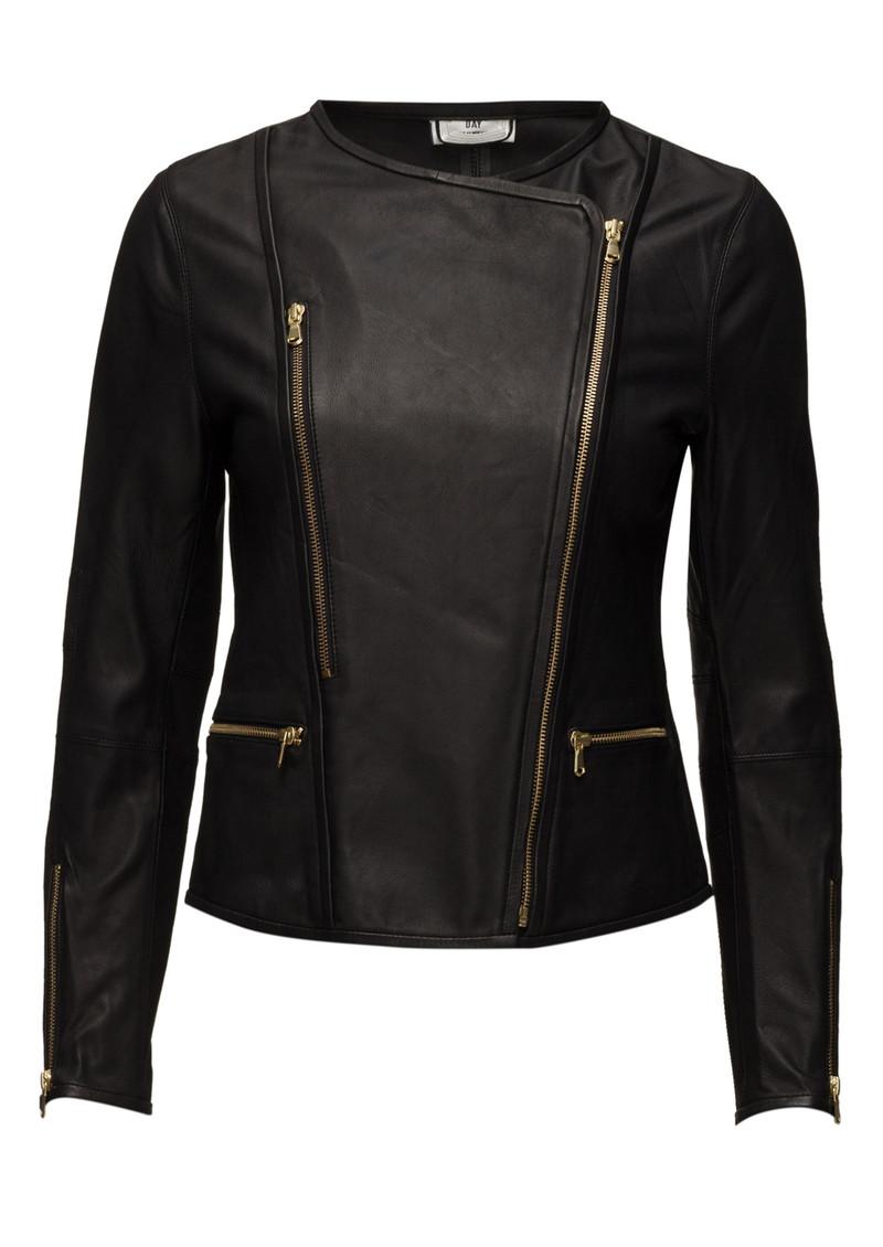 Day Birger et Mikkelsen  Day Cecilie Leather Jacket - Black main image