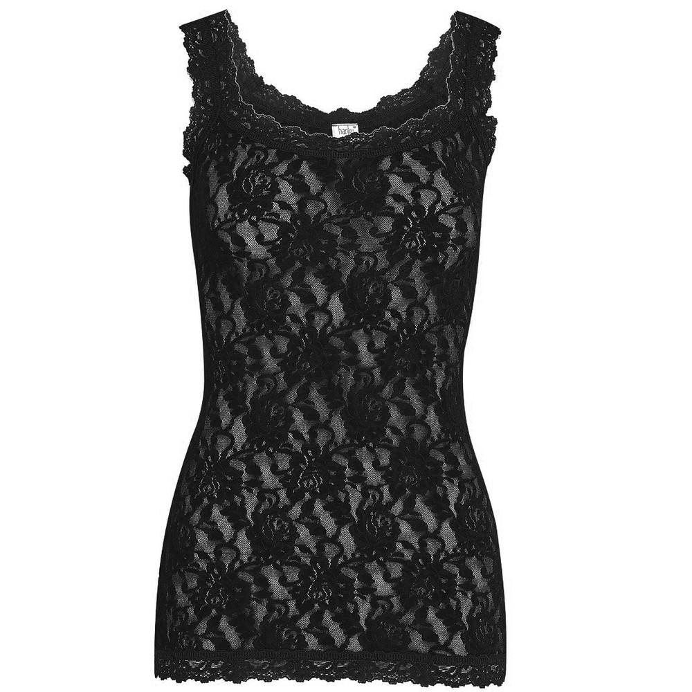 Signature Lace Camisole - Black