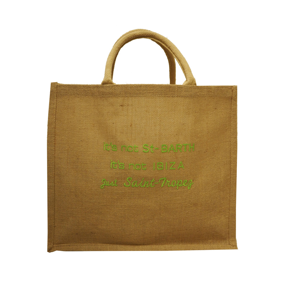 Just Saint Tropez Jute Bag - Green