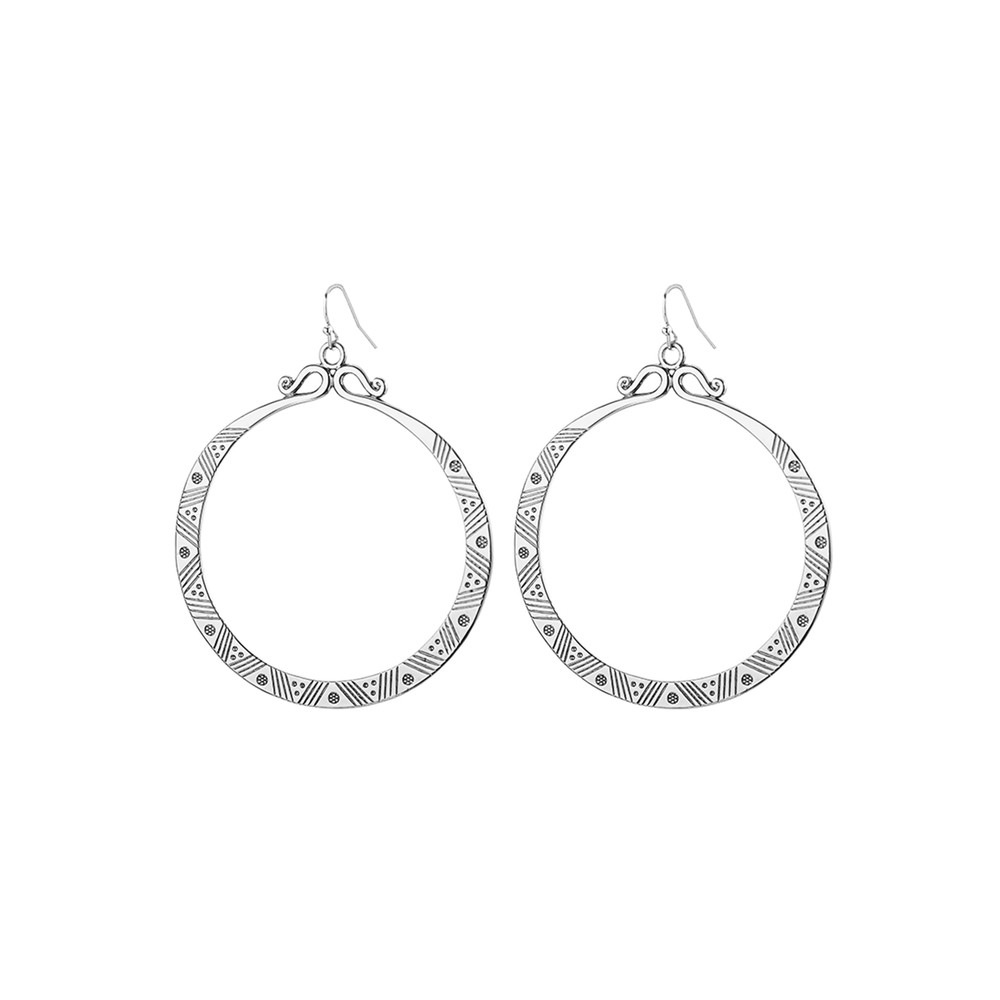 Eclipse Earrings - Silver