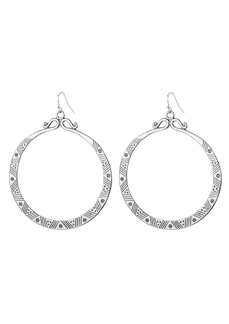Eclipse Earrings - Silver main image
