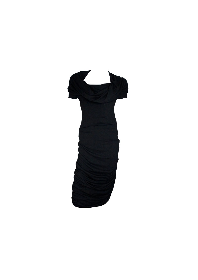 Miss Cast Iron Kitty Dress - Black main image