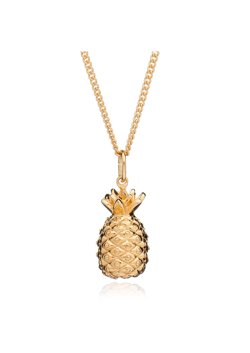 Pineapple Pendant Necklace - Gold main image