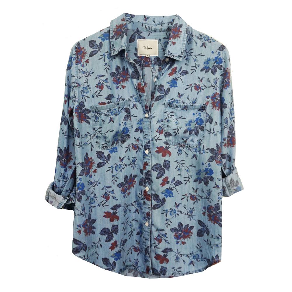 Carter Shirt - Bouquet Overdye