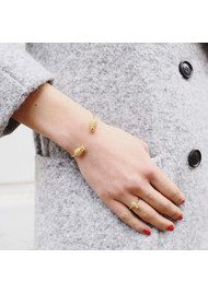 Adjustable Pineapple Ring - Gold