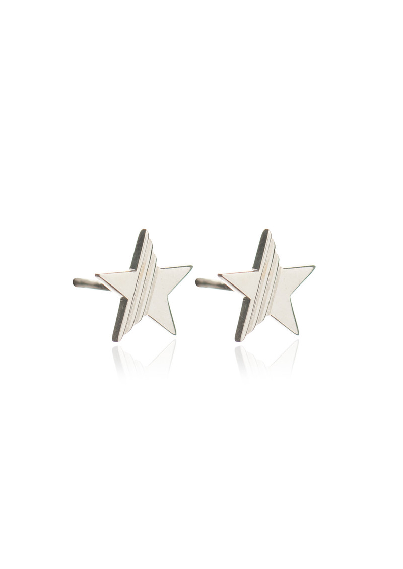 RACHEL JACKSON Star Stud Earrings - Silver main image
