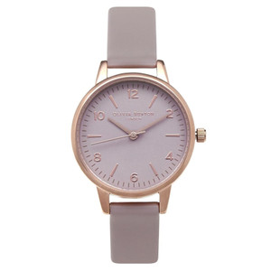 Modern Vintage Midi Dial Watch - Grey, Lilac & Rose Gold