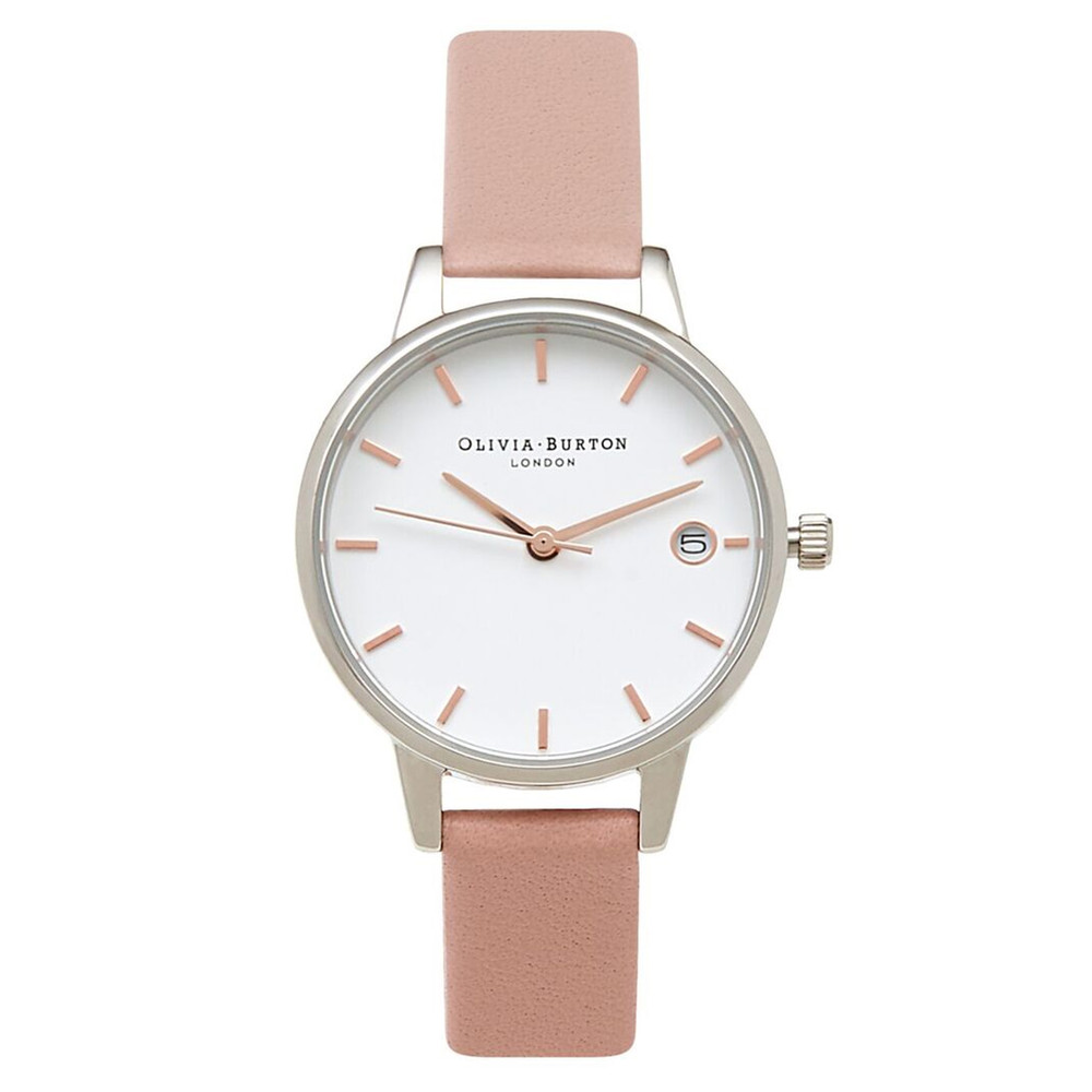 The Dandy Midi Dial Watch - Pink, Silver & Rose Gold