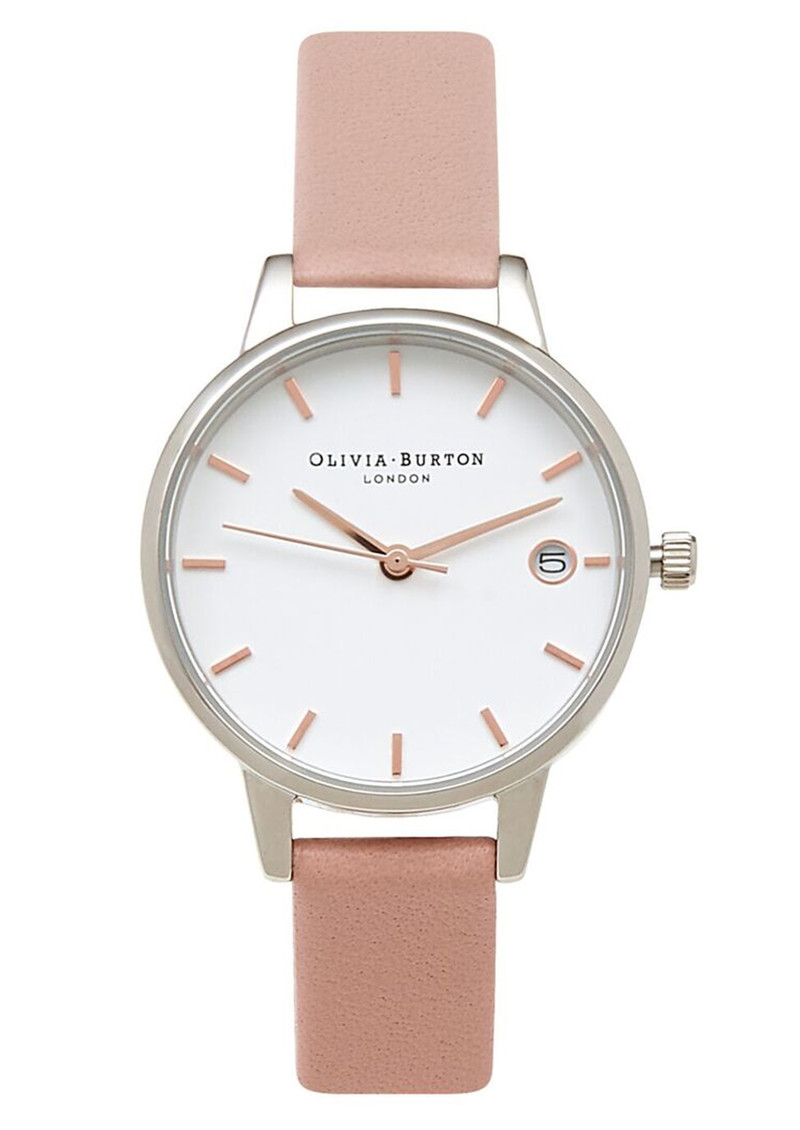 Olivia Burton The Dandy Midi Dial Watch - Pink, Silver & Rose Gold main image