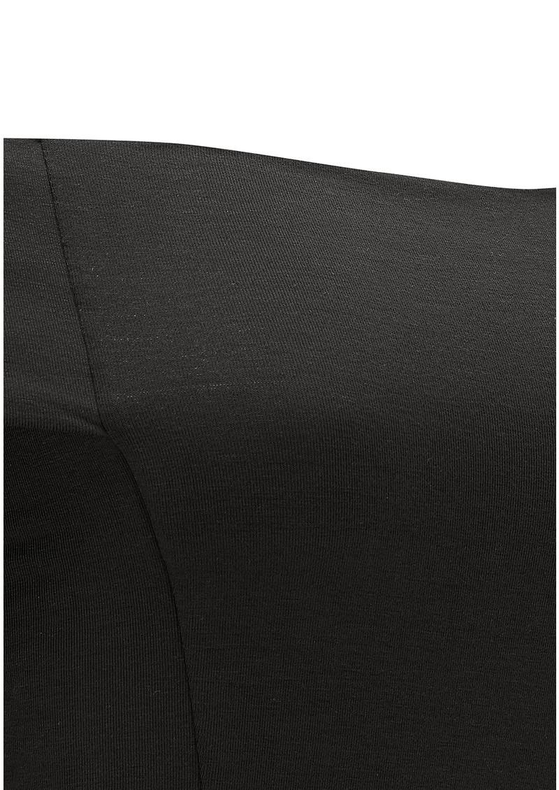 NADIA TARR Modern Trumpet Dress - Black main image
