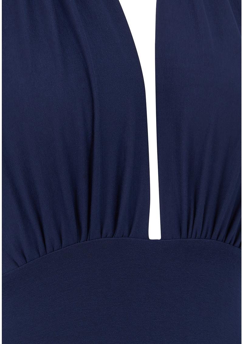 NADIA TARR Halter Pencil Dress -  Navy main image
