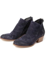 Hudson London Apisi Suede Ankle Boots - Navy