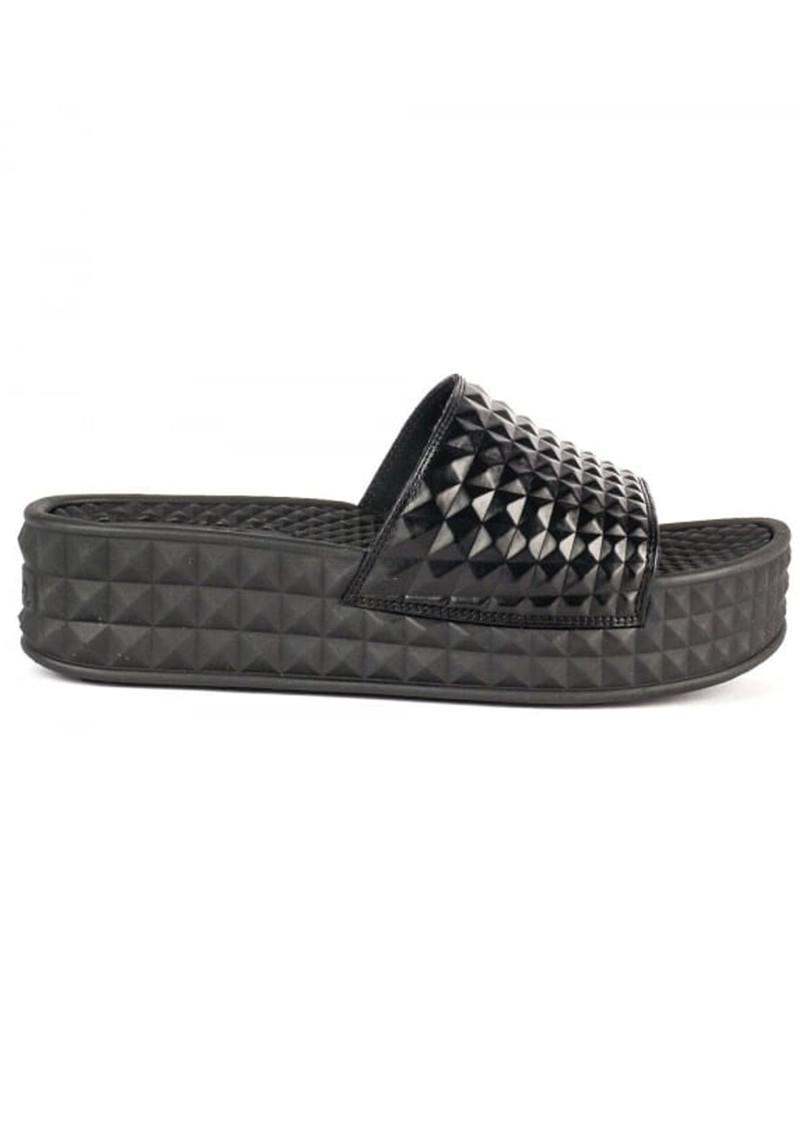 Ash Scream Studded Chunky Soled Sandals - Black main image