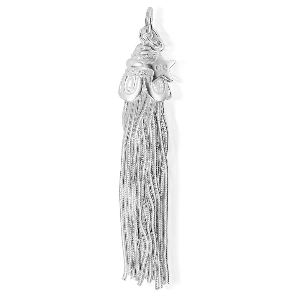 XL Tassel Pendant - Silver
